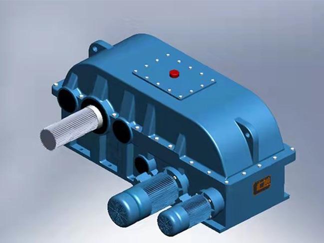 湖南CHCD系列齒輪連環少齒差減速器
